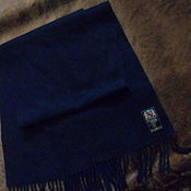 Винтаж handmade. Livemaster - original item Scarf with tassel,wool with cashmere,vintage Germany. Handmade.