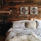 Картины и панно handmade. Livemaster - original item Scandinavian patterns Norwegian style panel set. Handmade.