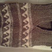 Одежда ручной работы. Ярмарка Мастеров - ручная работа жилет шерстяной. Handmade.