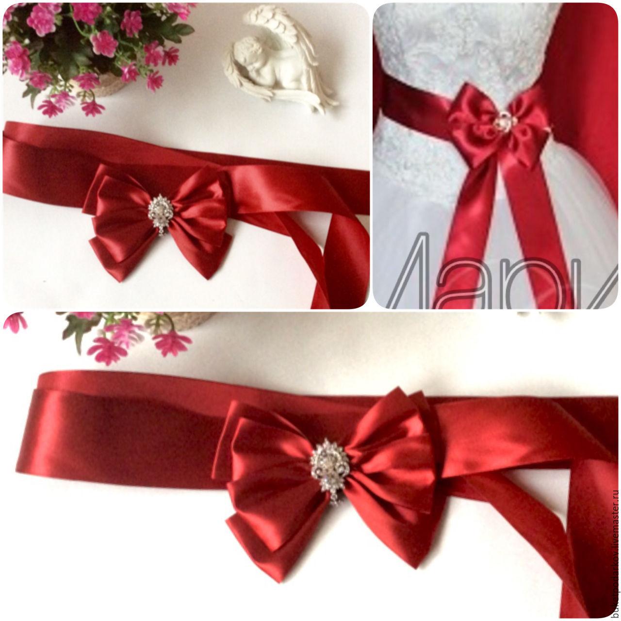 64d30cd5d48 Купить Пояс для свадебного Одежда и аксессуары ручной работы. Пояс для свадебного  платья.