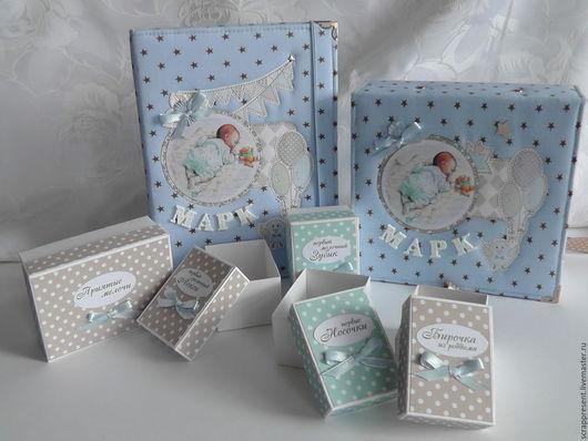 Блокноты ручной работы. Ярмарка Мастеров - ручная работа. Купить Набор BabyBook (Мамины заметки) и Мамины сокровища. Handmade.