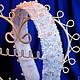Свадебные украшения ручной работы. Ярмарка Мастеров - ручная работа. Купить свадебный ободок. Handmade. Белый, свадебное украшение