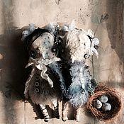 Куклы и игрушки ручной работы. Ярмарка Мастеров - ручная работа Птички-синички. Handmade.
