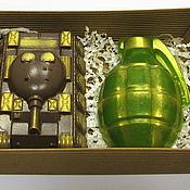 Косметика ручной работы handmade. Livemaster - original item Soap Set for February 23. Handmade.