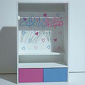 Куклы и игрушки ручной работы. Ярмарка Мастеров - ручная работа Шкаф для куколок Monster High, Ever After High, Barbie и др.. Handmade.