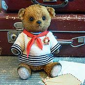 """Куклы и игрушки ручной работы. Ярмарка Мастеров - ручная работа Медведь тедди """"Пионер, всем медведям пример!"""". Handmade."""