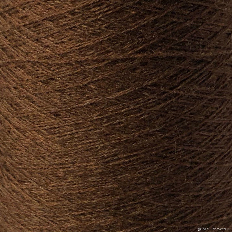 Пряжа Кашемир 2/28 коричневый меланж – купить на Ярмарке Мастеров – NGQQERU | Пряжа, Санкт-Петербург