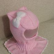 Работы для детей, ручной работы. Ярмарка Мастеров - ручная работа шапка-шлем. Handmade.
