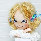Куклы и игрушки ручной работы. Ярмарка Мастеров - ручная работа Текстильная авторская кукла Балерина. Handmade.
