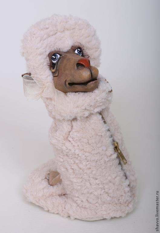 Куклы и игрушки ручной работы. Ярмарка Мастеров - ручная работа. Купить Овечка Манечка -копилка. Handmade. Овечка, новогодний подарок