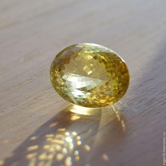Лимонный кварц натуральный.Ювелирная вставка. 1800 руб.