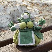 Фен-шуй и эзотерика handmade. Livemaster - original item Doll herbalist Zelenushka, potbelly amulet of health. Handmade.