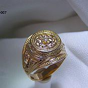 Украшения handmade. Livemaster - original item ring: Gold signet mens. Handmade.
