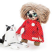 Куклы и игрушки ручной работы. Ярмарка Мастеров - ручная работа Кузя. Handmade.