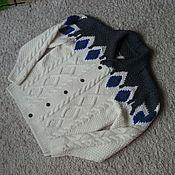Одежда handmade. Livemaster - original item Cardigan knitting. Handmade.