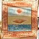 Символизм ручной работы. Заказать Алхимическое Единство. MosArtStudio. Ярмарка Мастеров. Воздух, сграффито, оригинальный подарок, вселенная, акриловые краски