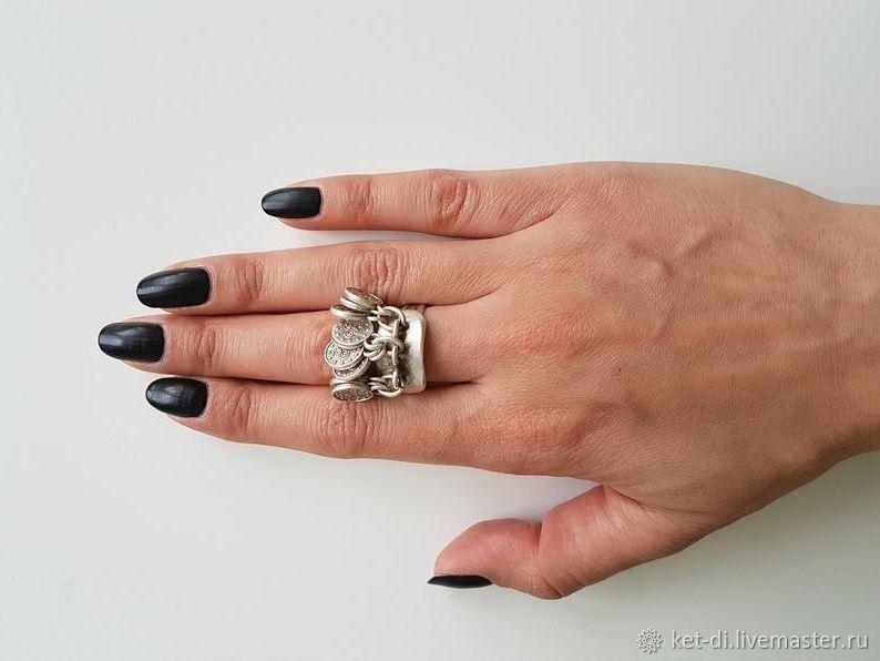 Rings silvered Boho original, Rings, Moscow,  Фото №1