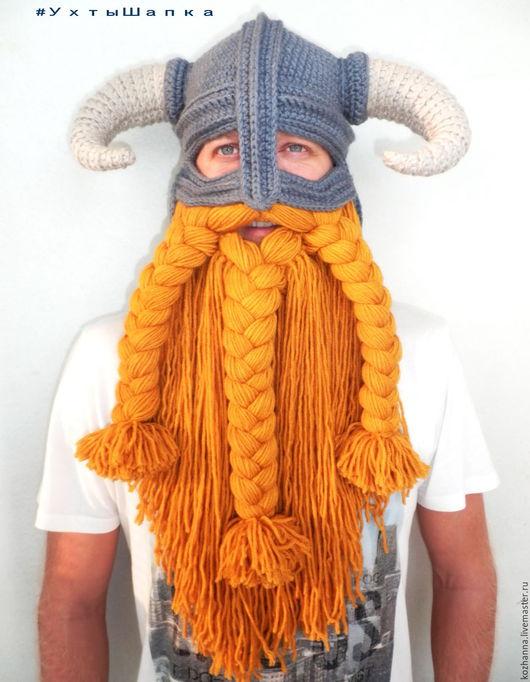 Шапки ручной работы. Ярмарка Мастеров - ручная работа. Купить Шапка шлем Довакина. Handmade. Шапка шлем, шлем викинга