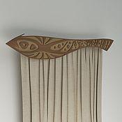 Для дома и интерьера ручной работы. Ярмарка Мастеров - ручная работа Гардина в этническом стиле. Handmade.
