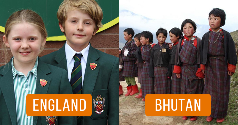 School Uniforms from Different Countries of the World – Livemaster
