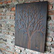 Картины и панно ручной работы. Ярмарка Мастеров - ручная работа Панно из дерева. Handmade.