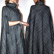 Одежда ручной работы. Ярмарка Мастеров - ручная работа Пальто кейп ( утепленный ). Handmade.