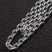 Украшения handmade. Livemaster - original item Chain from silver 925 anchor weaving. Handmade.