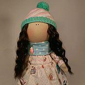 Куклы и игрушки ручной работы. Ярмарка Мастеров - ручная работа Девочка-пироженка. Handmade.