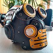 Аксессуары ручной работы. Ярмарка Мастеров - ручная работа Аксессуары: Шлем с маской Full face стиле стимпанк/дизельпанк. Handmade.
