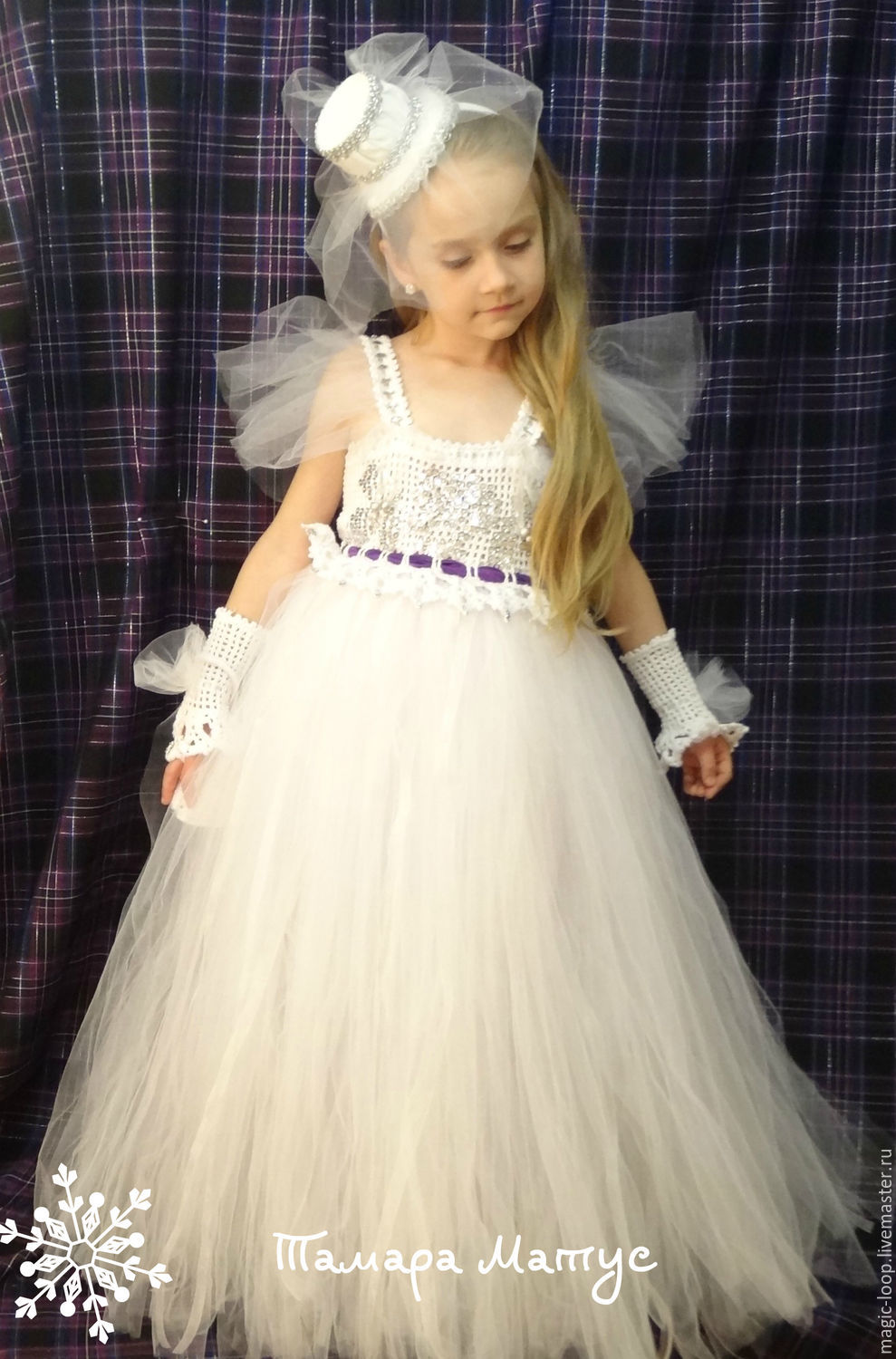 Ballroom dress for the little lady in \