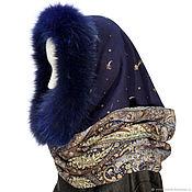 Аксессуары handmade. Livemaster - original item Snood is a scarf with a furry mermaid. Handmade.