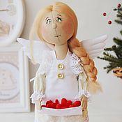 """Куклы и игрушки ручной работы. Ярмарка Мастеров - ручная работа Ангел """"Сердешный"""". Текстильная авторская кукла.. Handmade."""