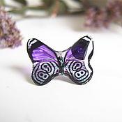 Украшения handmade. Livemaster - original item Transparent Stud Earrings Studs Butterfly Tenderness. Handmade.