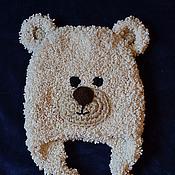 """Работы для детей, ручной работы. Ярмарка Мастеров - ручная работа Шапочка """"Медвежонок"""". Handmade."""