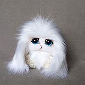 Куклы и игрушки handmade. Livemaster - original item Teddy Animals: Bunny Snowball. Handmade.
