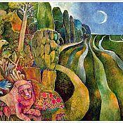 """Картины и панно ручной работы. Ярмарка Мастеров - ручная работа Картина """"Дороги"""", 100х60. Handmade."""