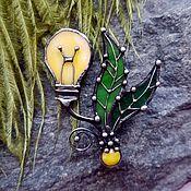 handmade. Livemaster - original item Light Bulb Brooch. Handmade.