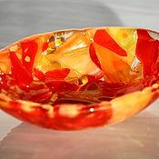 """Посуда ручной работы. Ярмарка Мастеров - ручная работа Пиала """"Яркая осень"""". Handmade."""