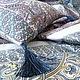 """Текстиль, ковры ручной работы. комплект """"Восточный сад"""" лоскутное одеяло + подушка. Наталья Абрамова. Ярмарка Мастеров. Для автомобиля"""