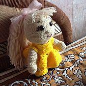 Для дома и интерьера ручной работы. Ярмарка Мастеров - ручная работа Кукла вязаная. Handmade.