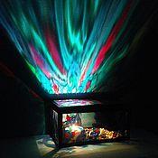 Для дома и интерьера ручной работы. Ярмарка Мастеров - ручная работа Шкатулка-ночник. Handmade.