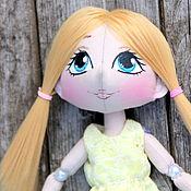 Куклы и игрушки ручной работы. Ярмарка Мастеров - ручная работа Малышка Светлячок-кукла для начинающих блоггеров. Handmade.