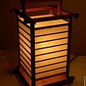 """Для дома и интерьера ручной работы. Ярмарка Мастеров - ручная работа Светильник в японском стиле """"Киото"""". Handmade."""