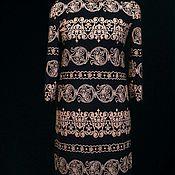 Одежда handmade. Livemaster - original item Dress with print. Handmade.
