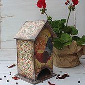 """Для дома и интерьера ручной работы. Ярмарка Мастеров - ручная работа """"Прованский петушок"""" чайный домик. Handmade."""