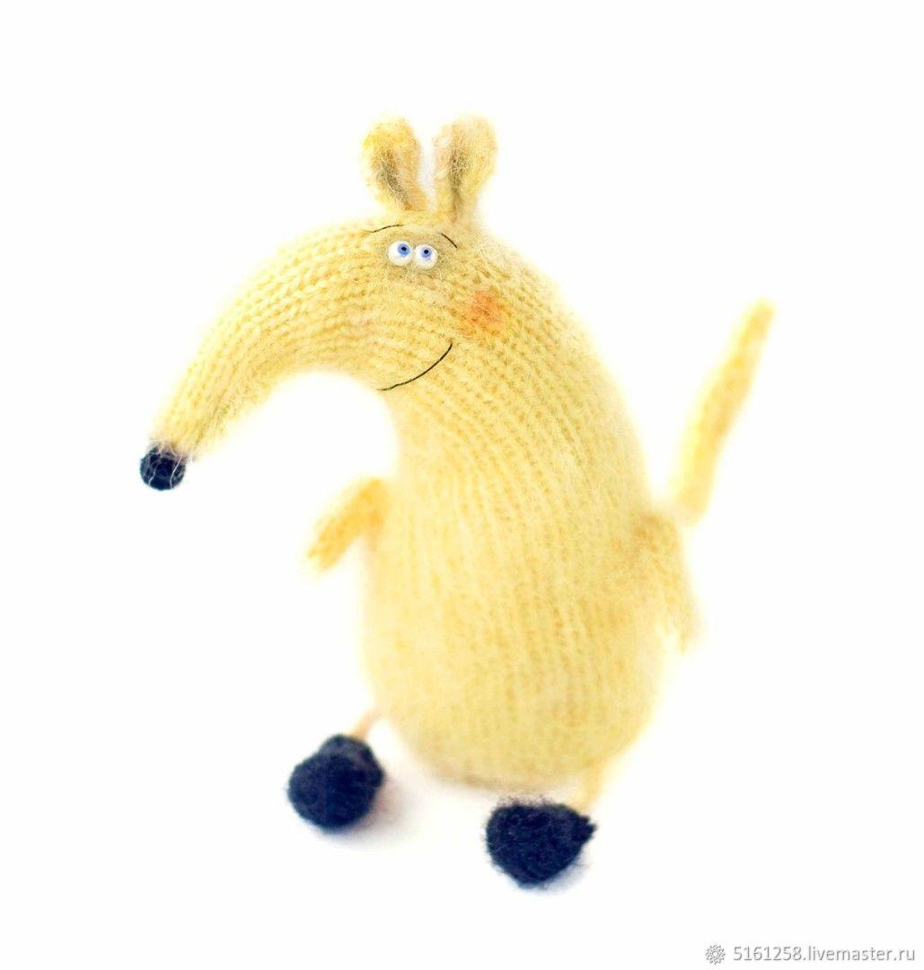 Мышонок Пип СПИЦЫ мастер-класс спицами игрушка мышь, Мягкие игрушки, Вязьма,  Фото №1