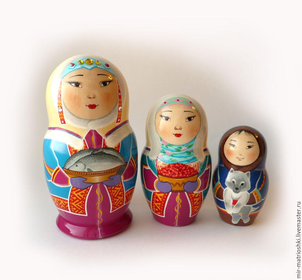 Patter: The matryoshka Matryona was looking for the doll in the matryoshka Matryona found