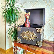 Для дома и интерьера handmade. Livemaster - original item The forged chest