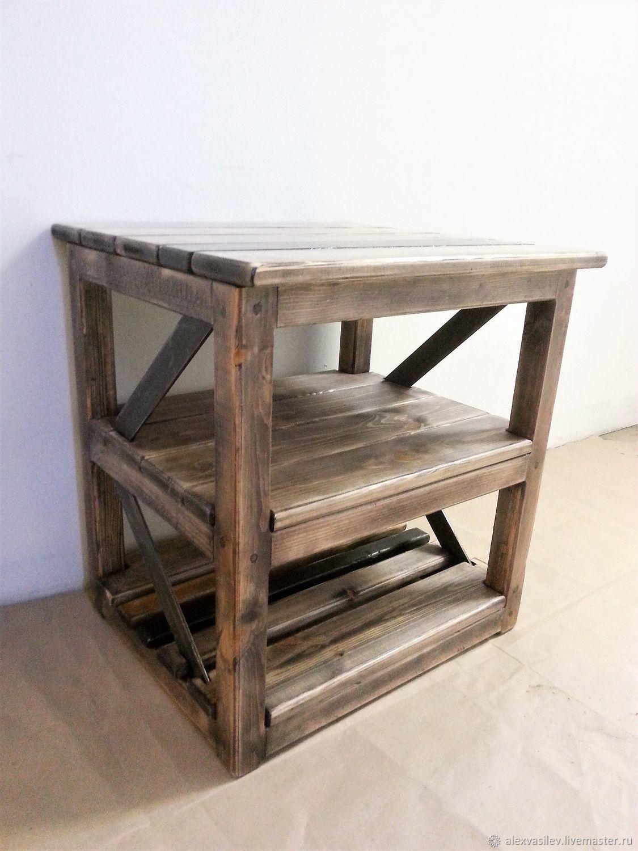 Entrance Hall handmade. Livemaster - handmade. Buy Shoe Cabinet, kolesnica, dresser, console 'Ragnar' color walnut.Gift, combo