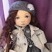 Куклы и игрушки ручной работы. Ярмарка Мастеров - ручная работа Кукла в платье с вышивкой. Handmade.